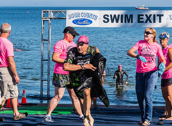 2018 Door County Half Iron Triathlon in Photos