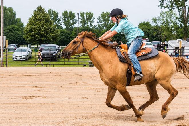 Riders, Horses Featured in Door County Open Show