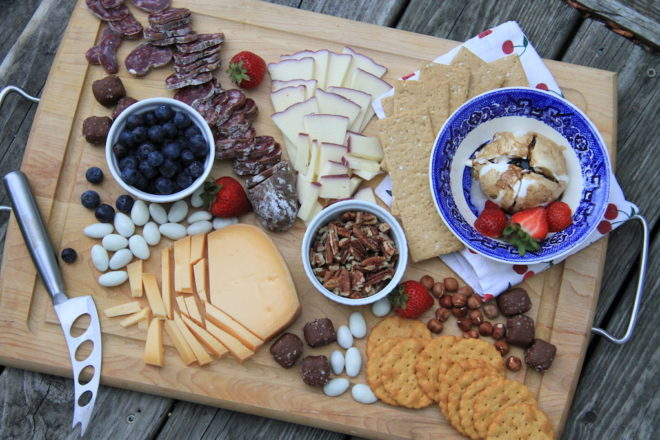 A Door Artisan Cheese Board Buildout