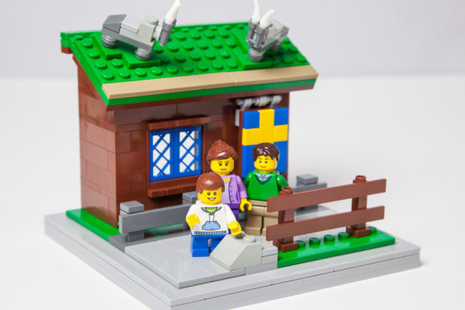 Creating Door County One LEGO at a Time