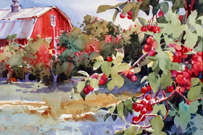 Meet the Watercolorists at Cottage Row Gallery