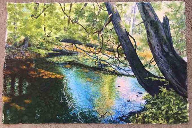 Meadows Gallery Honors Door County Art League