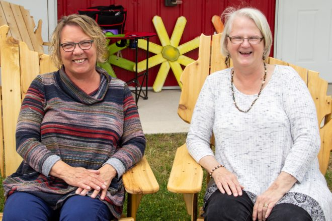 Hardworking Hosts of Shanty Days Arts and Crafts Fair