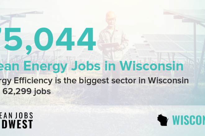 Clean Energy Jobs Grew in Midwest States