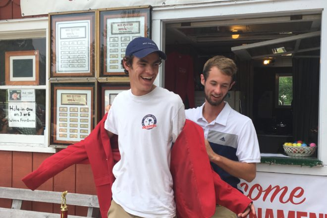 Nick Kraus Takes Red Jacket in Red Putter Pro Tourney