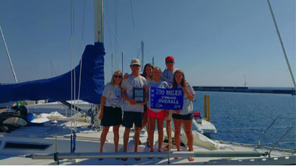 Sailors Repeat 100 Miler Yacht Race Victory