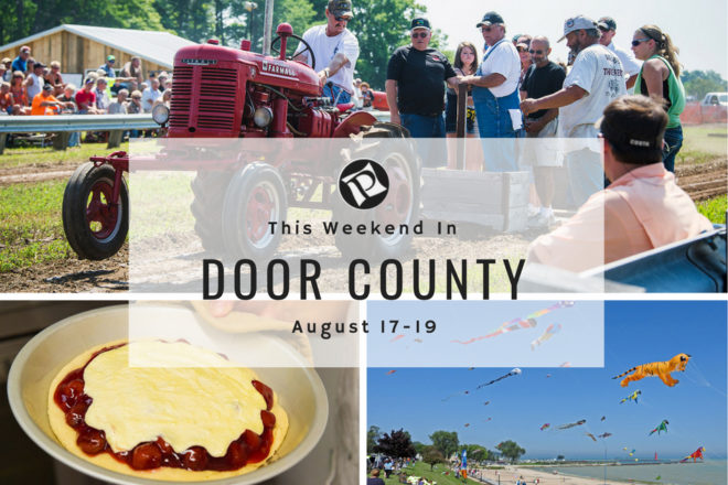 This Weekend in Door County: Pig Wrestling and Kite Festival