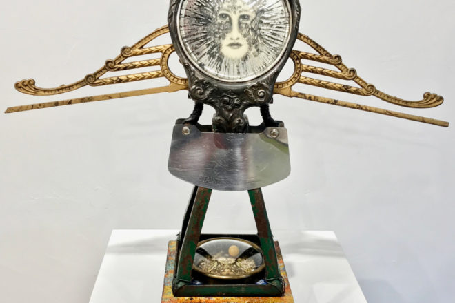 Mixed-media Sculptures, Paintings at Idea Gallery