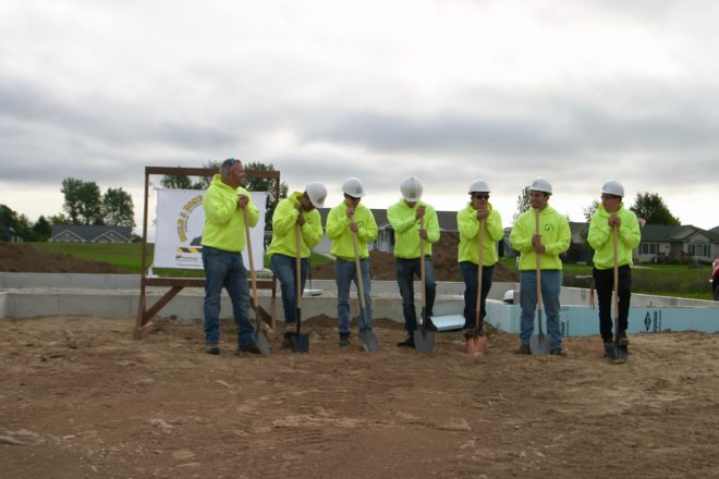Local Students Prepare to Build 10th Home