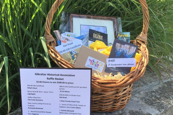 GHA Raffle Basket Filled with Door County Goodies