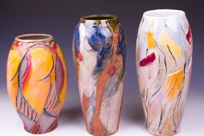 Functional to Decorative Stoneware