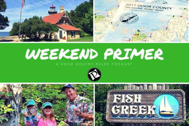 Fall Time Festivals & Door County Treasure Hunt: Weekend Primer Podcast