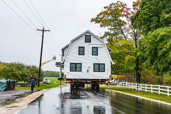 Moving the Horseshoe Bay Farms Cottages [Photos]