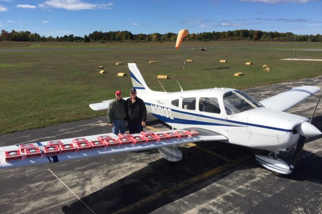 Flight for Door County Cherry Pies Fulfills Final Wish