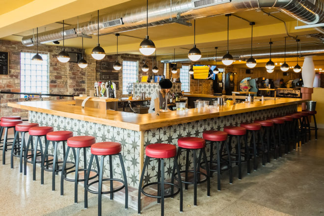 One Barrel Brewing Takes Over Taps at Cherry Lanes