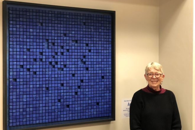 Celebrate Water Chairwoman Honored with Artwork at DCCF