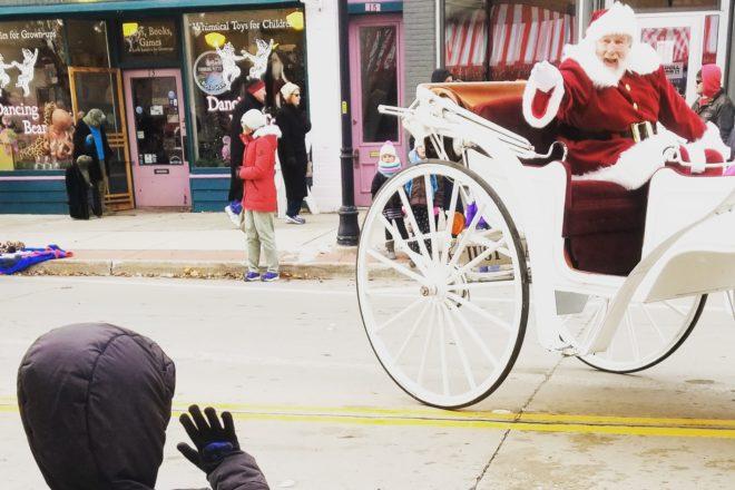Framed: Third Avenue Santa