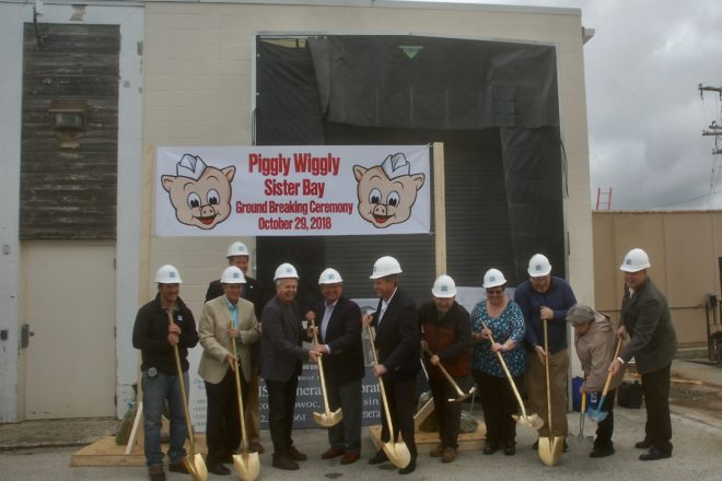 Sister Bay Piggly Wiggly Expansion Breaks Ground