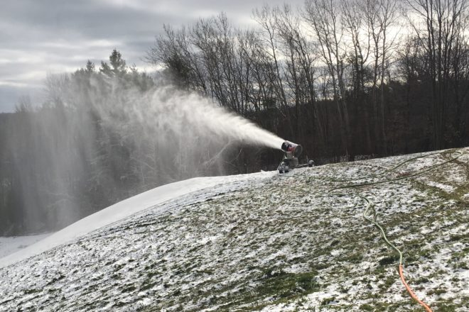 Making Snow at Winter Park