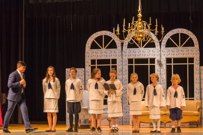 Young Cast Fills Big Roles in Sevastopol's 'Sound of Music'