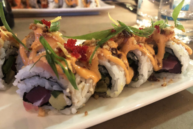 Seaweed, Poke & Specialty Sushi at Crate