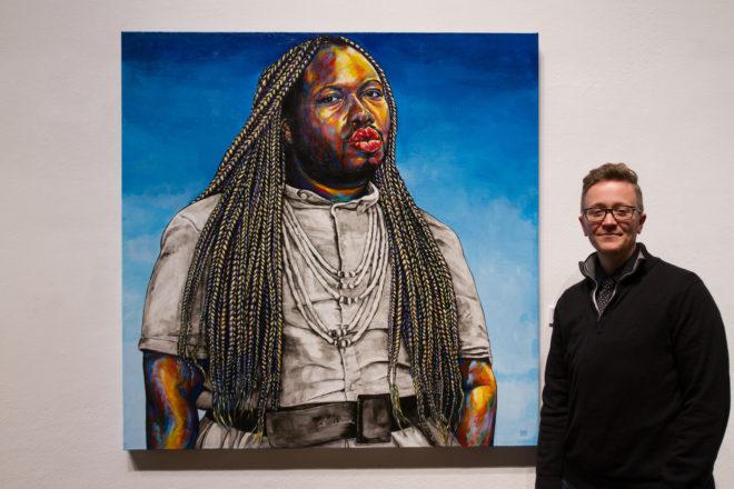 Artist Depicts Trans People's Lives in 'TRANSCEND'