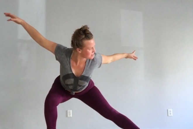 Sara Litterio, Buti Yoga, Dancin' on the Door, yoga
