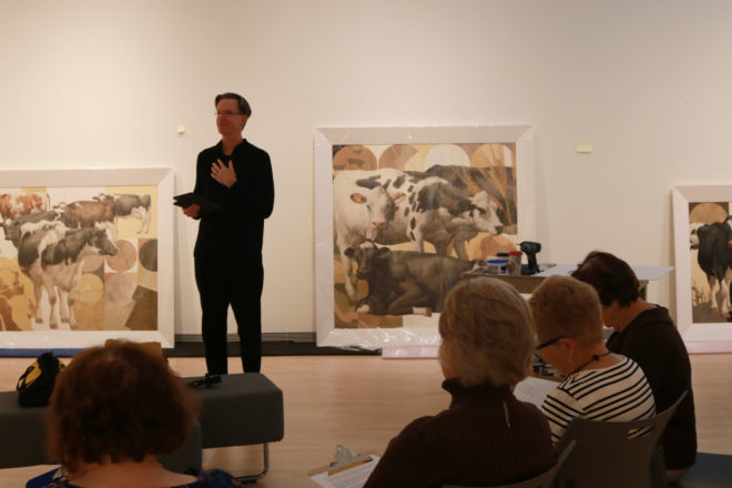 Craig Blietz and His Cows Featured at Museum of Wisconsin Art