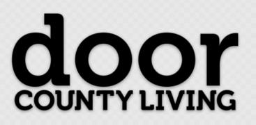 Door County Living, sticker