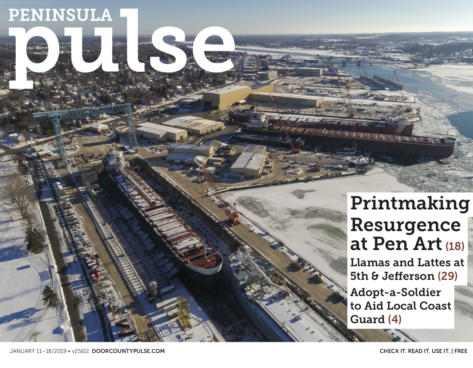 Peninsula Pulse January 11 18 2019 Door County Pulse Did you scroll all this way to get facts about marcus parks? peninsula pulse january 11 18 2019