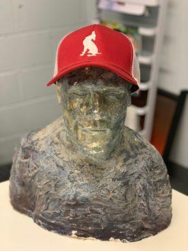 Peninsula Pulse, Baseball Cap, red hat