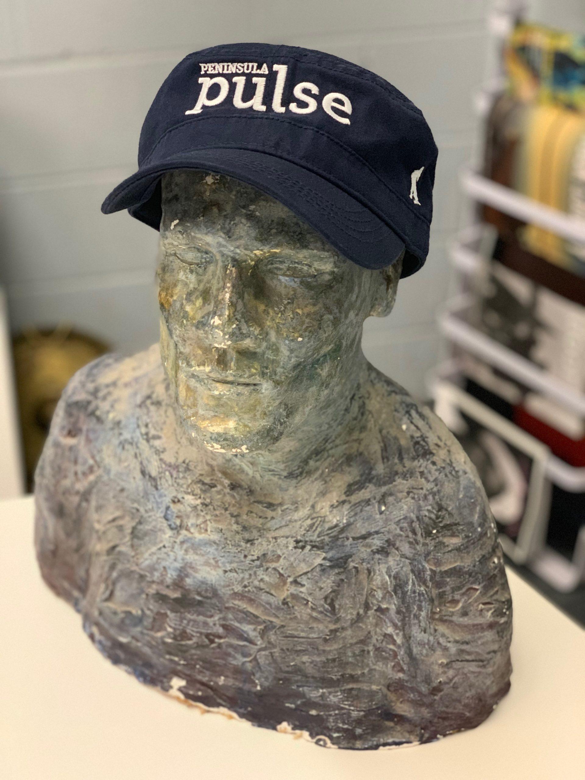 Peninsula Pulse Hat, Newsboy hat