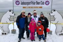Jacksonport Polar Bear Plunge, Jarosh Family, Jarosh, Jacksonport, family photo