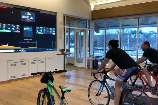 Indoor Cycling Race Series Comes to Kress Pavilion