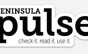 Peninsula Pulse, sticker