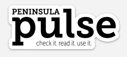 Peninsula Pulse, sticker