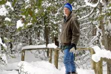 Snowshoe, Len Villano, winter, hike