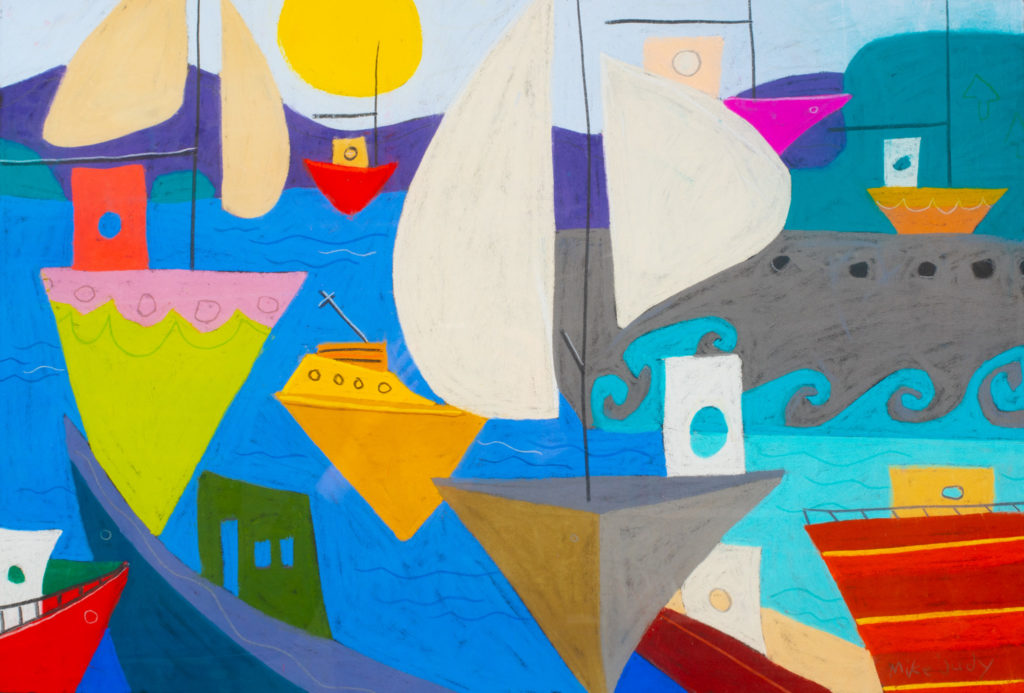Mike Judy, Plum Bottom Gallery, pastel artist, pastel art