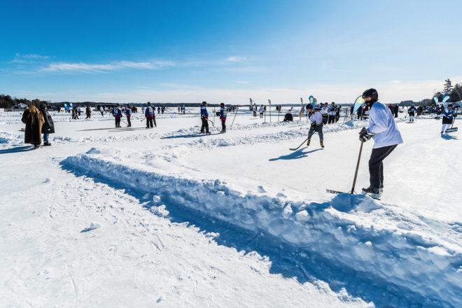 For Former Blackhawk, Pond Hockey a Step Back to Childhood
