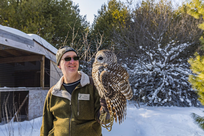 Winter Open Day at Bird Sanctuary