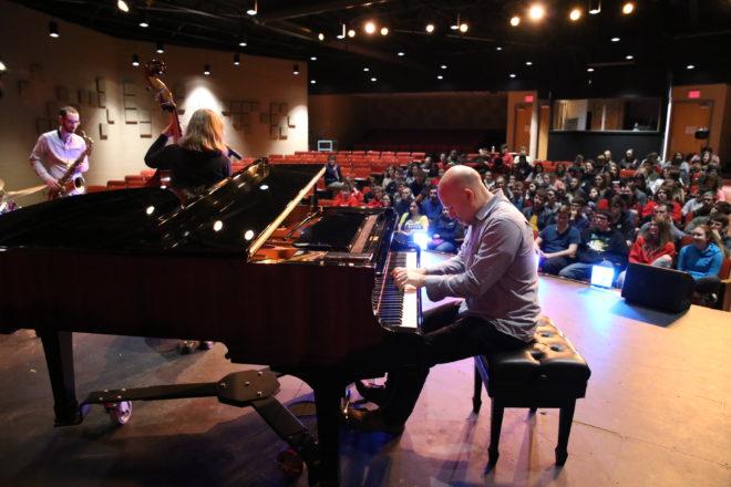 Birch Creek Jazz Quartet Visits Door County Schools