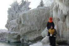 Cave Point, Snow Day, Door County, Door County winter