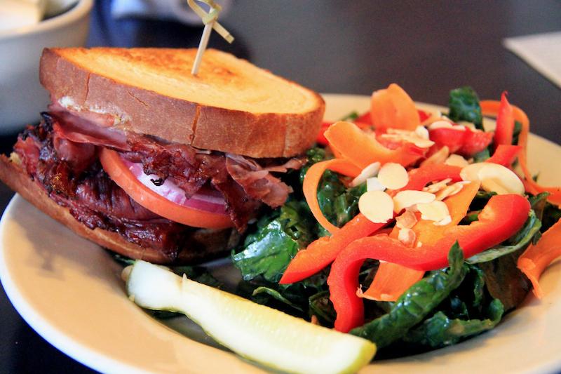 Inn at Cedar Crossing, Aleah Kidd, sandwich, salad