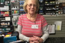 Server of the Week, Baileys 57, Sylvia Reinhardt, Baileys Harbor, Door County