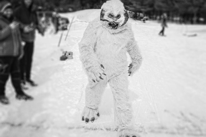 Len's Pic of the Week: Yeti Crosses the Line