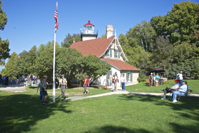 Eagle Bluff Light Station Preservation Continues