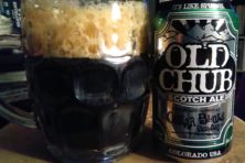 Old Chub, beer review, Jim Lundstrom