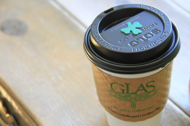 Glas Coffeehouse Celebrates 10 Years of Being Green