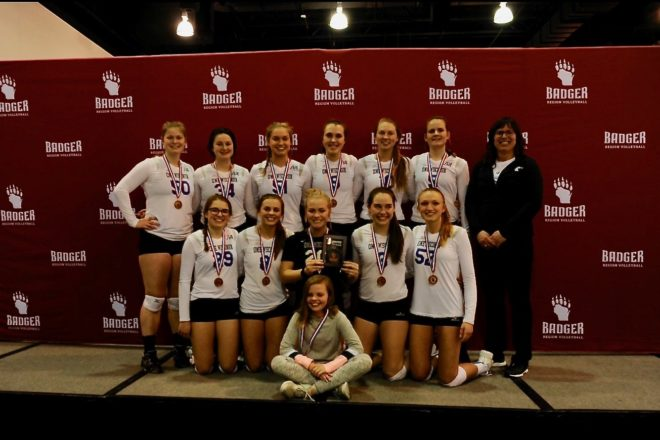 Door County Volleyball Club Brings Home Gold