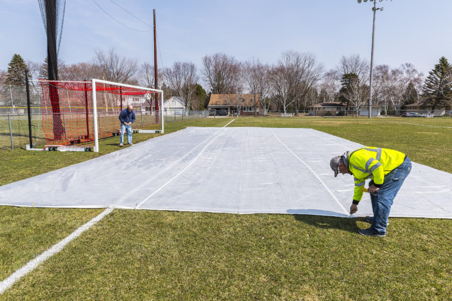 Spring Weather Tests High School Athletic Directors